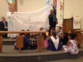 Bethlehem Fairport NY  children's sermon for malaria campaign.jpg